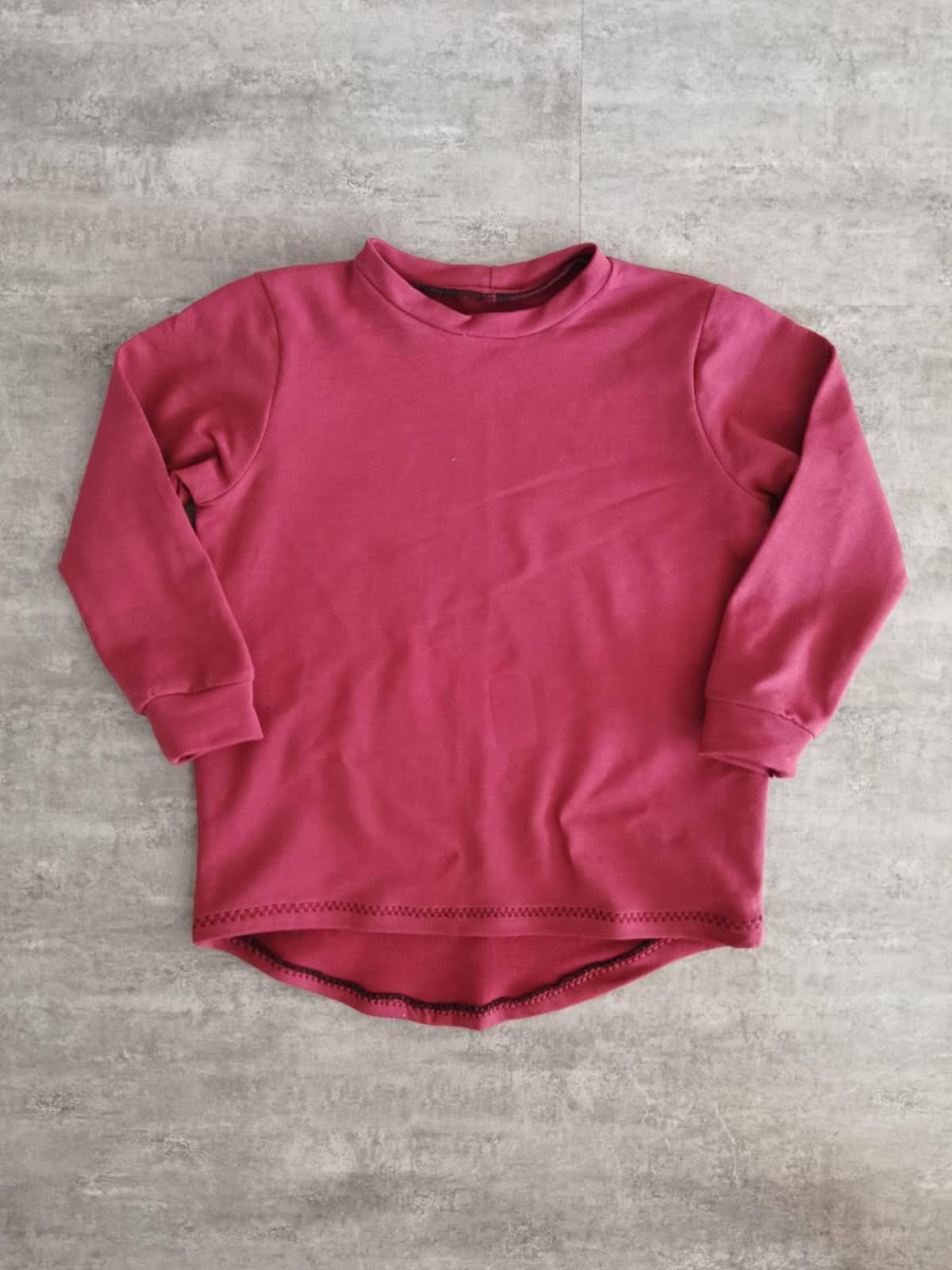 Basic Shirt Buben, rot