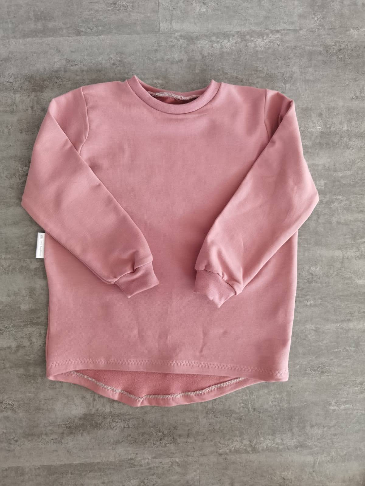 Basic Shirt Mädchen, rosa