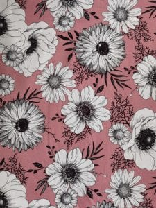 Girl Blumen rosa (Mädchen)