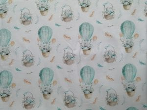 Hasen im Heißluftballon (Buben)