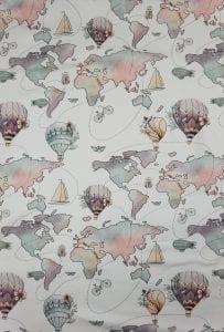 Weltkarte (Mädchen)